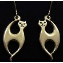 Elegant Cat Earrings